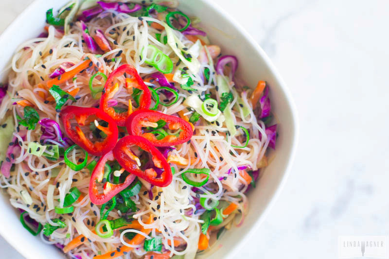 Gluten Free Asian Noodle Salad