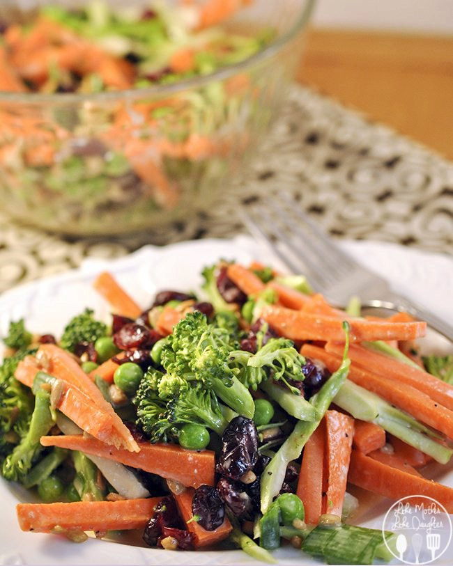 Carrot Broccoli Crunch Salad