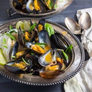 One-Pot Thai Curry Mussels