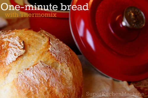Best one-minute Thermomix bread recipe