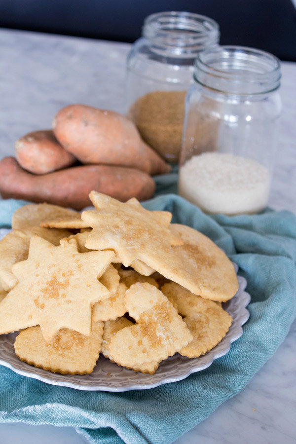 Sweet Potato Sugar Cookies