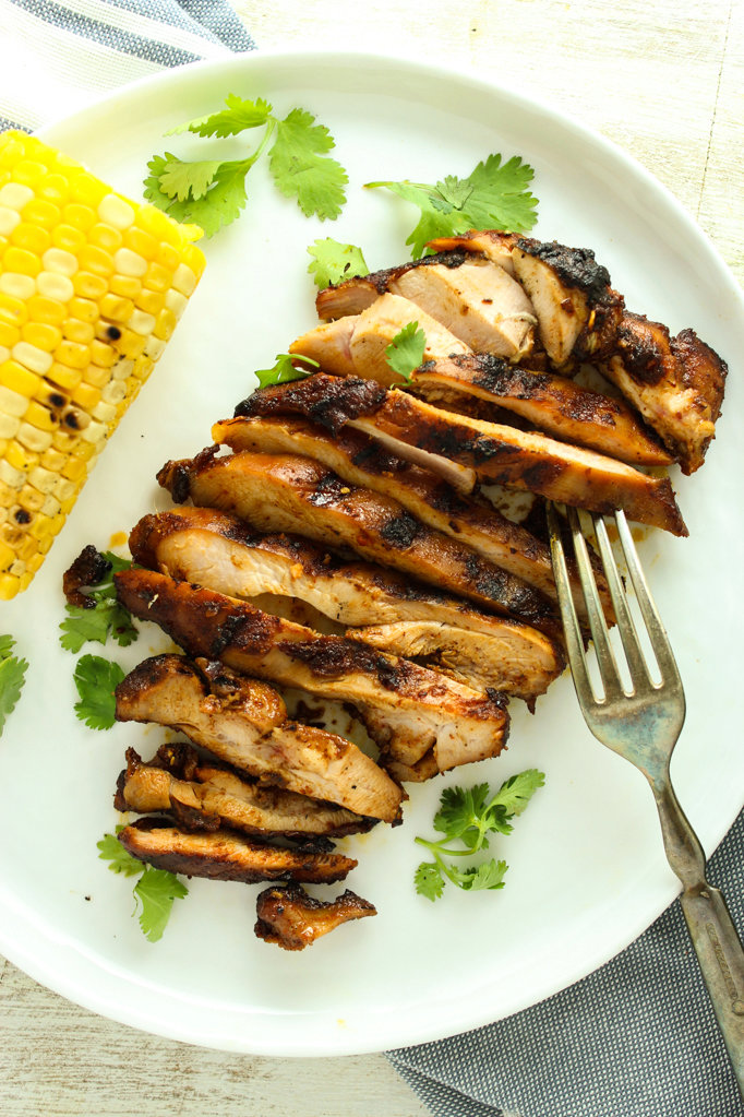 The Absolute Best Grilled Chicken Thighs