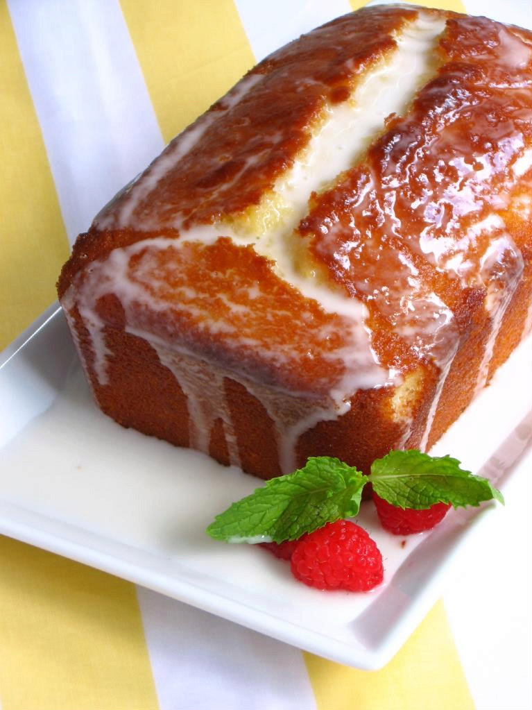 Ina Garten Lemon Sour Cream Pound Cake