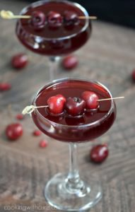 Pomegranate Cherry Spritzer