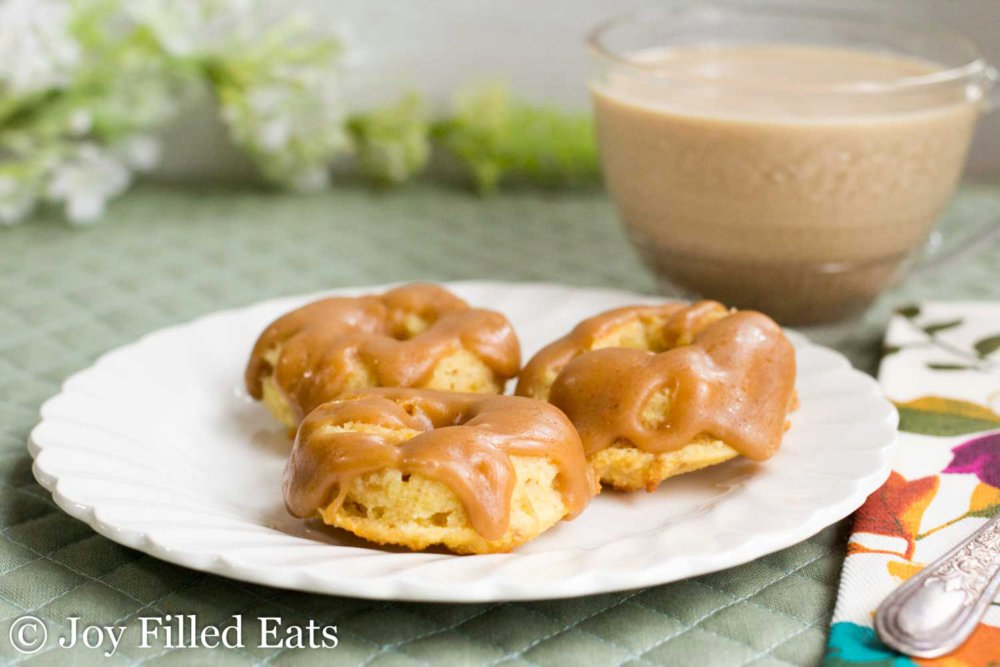 Mini Browned Butter Caramel Donuts