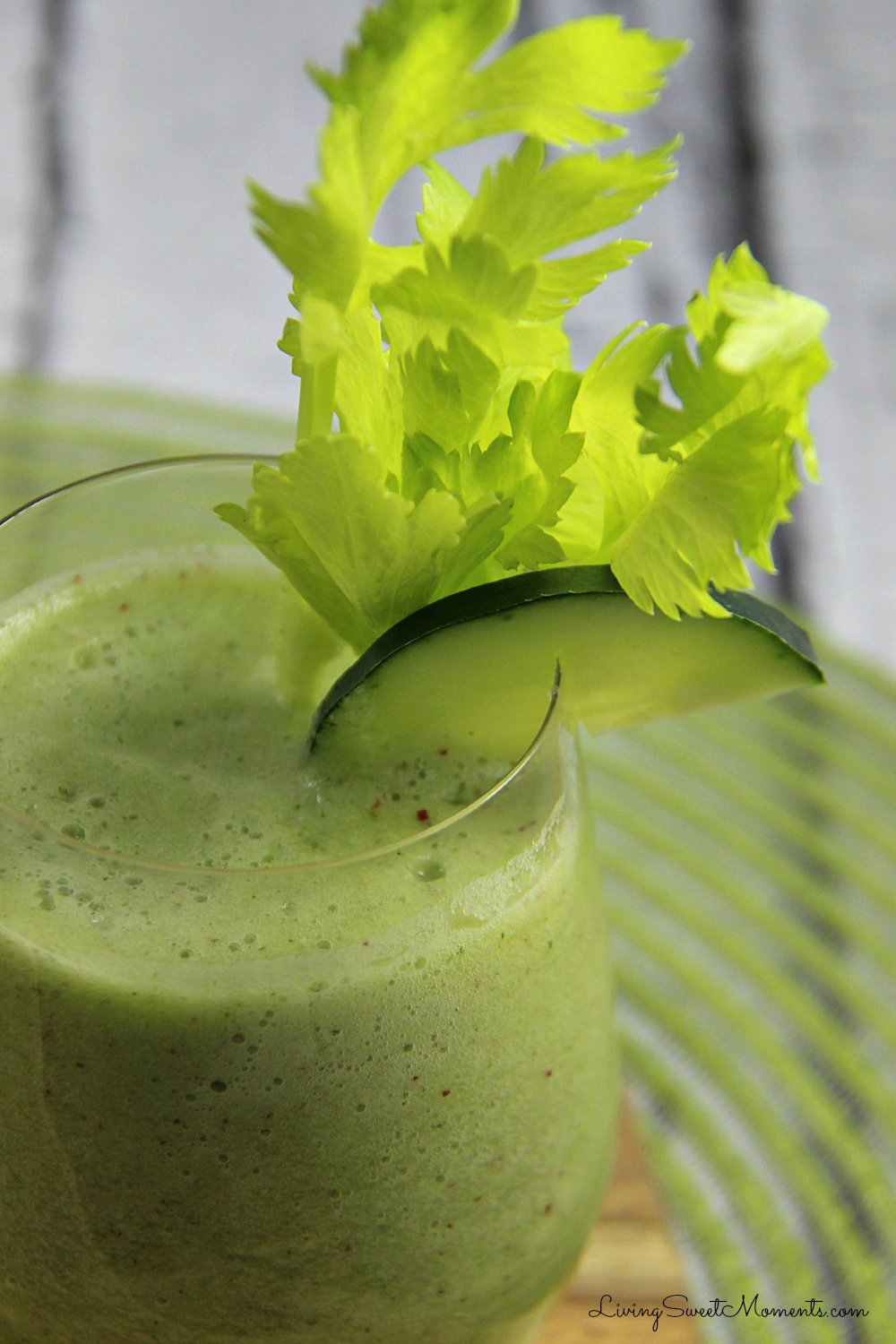 Cucumber And Ginger Smoothie Recipe