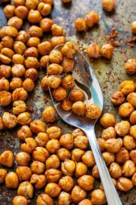 Crispy Roasted Shawarma Chickpeas