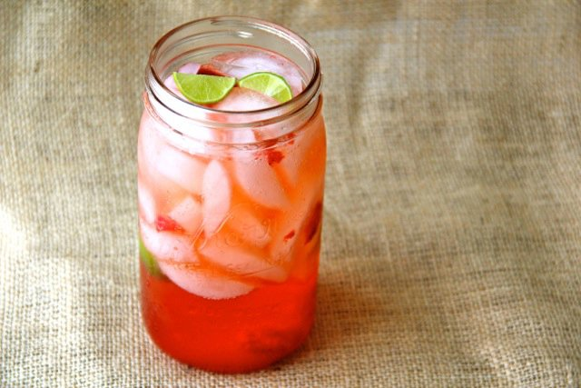 Strawberry Key Limeade