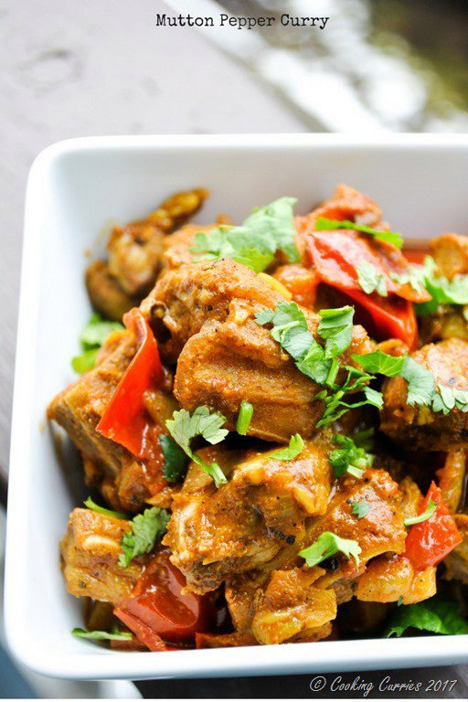 Mutton Pepper Curry - Kerala Style