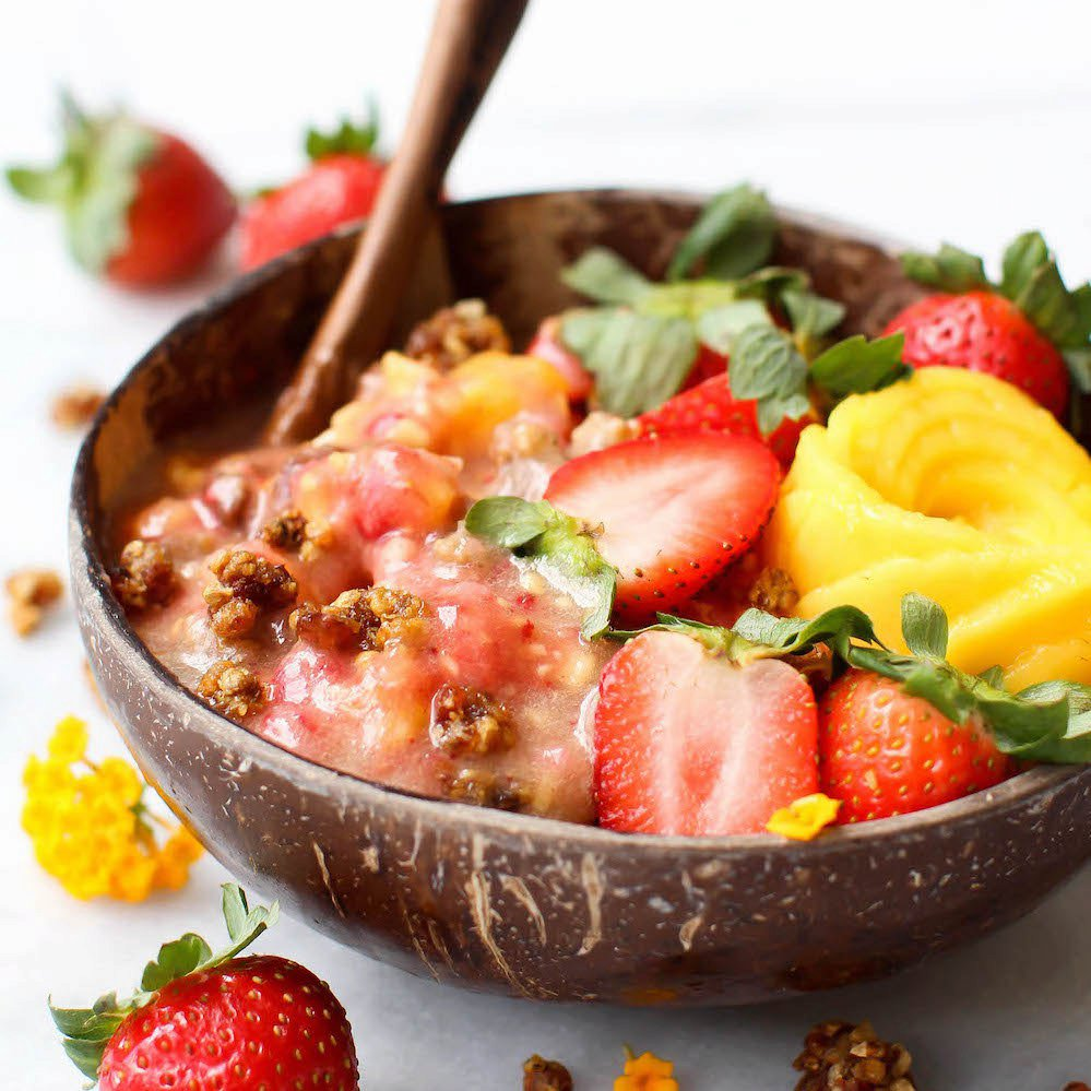 Mango Strawberry Fruity Raw Cereal