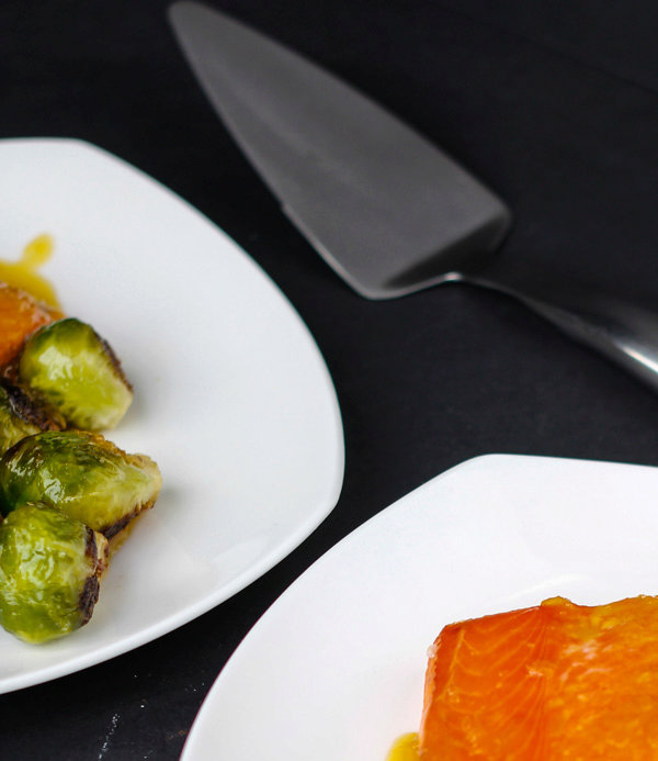 Orange Glazed Brussels Sprouts AIP/Paleo