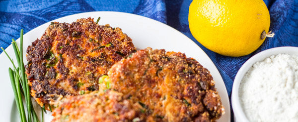 Salmon patties (AIP/Paleo)