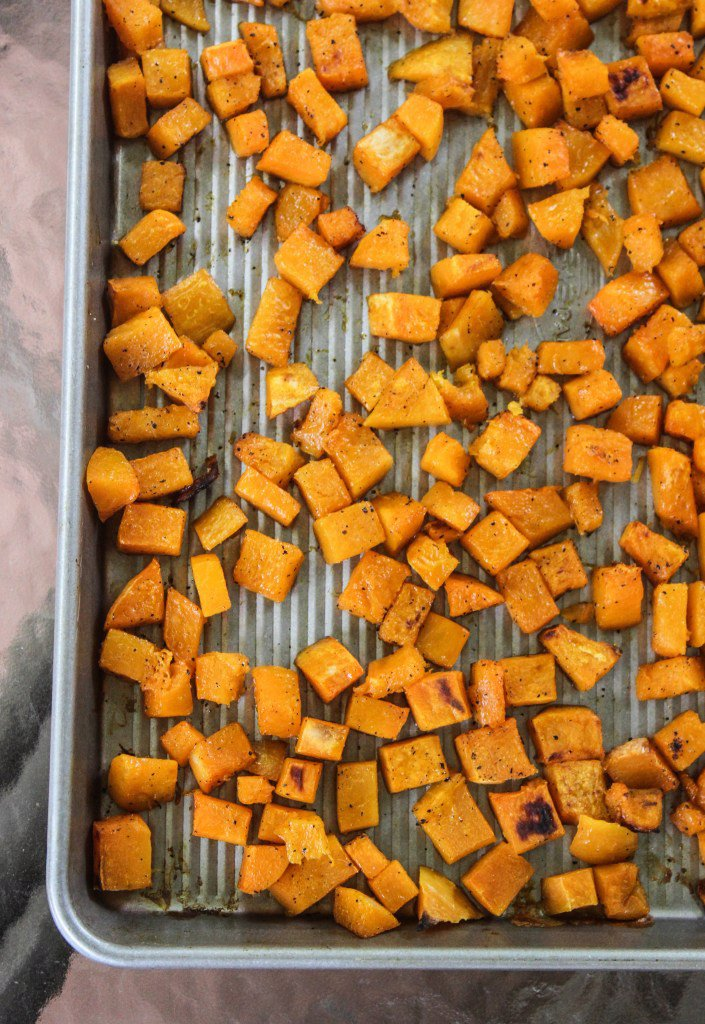 How to Peel, Chop, & Roast a Butternut Squash
