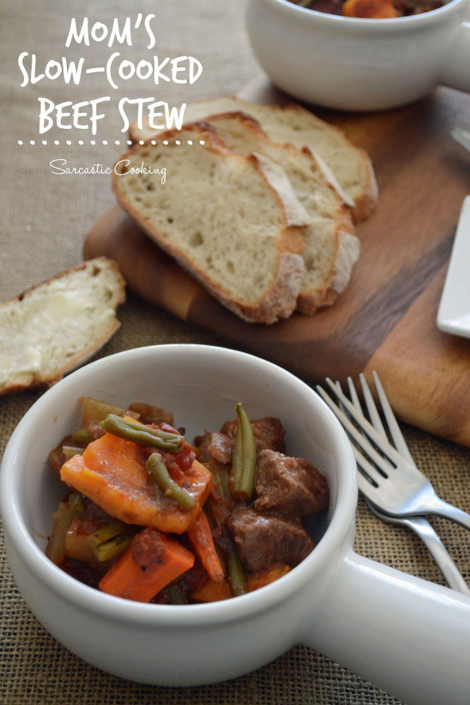 Mom's Slow-Cooked Beef Stew