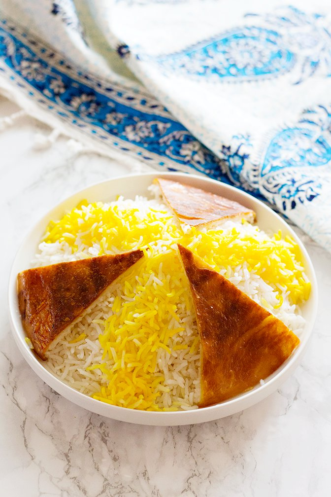 Persian Steamed White Rice - Chelow