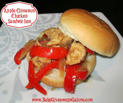 Apple Cinnamon Chicken Sandwich Recipe For The Slow Cooker