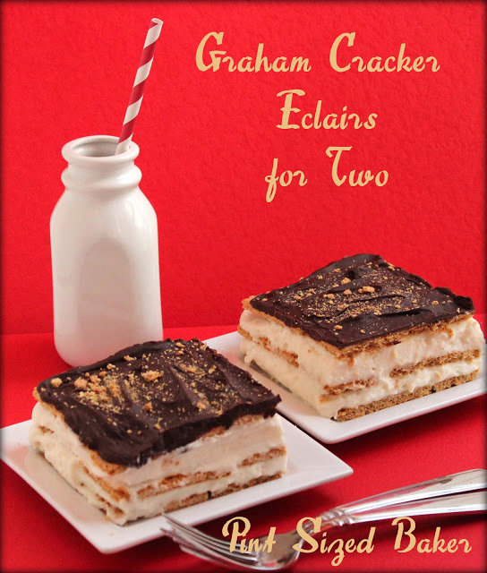 Graham Cracker Eclairs for Two