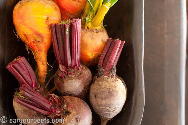 Citrus and Honey Roasted Beets