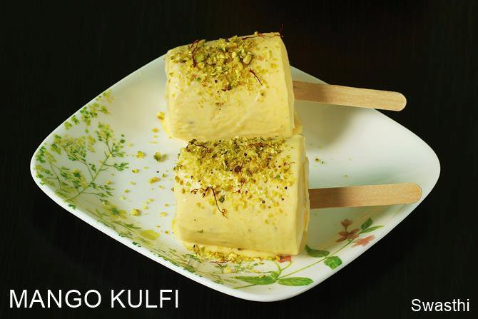 Mango kulfi recipe | How to make instant mango kulfi | No cook kulfi