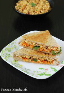Paneer sandwich recipe | How to make paneer sandwich recipe | Sandwich recipes