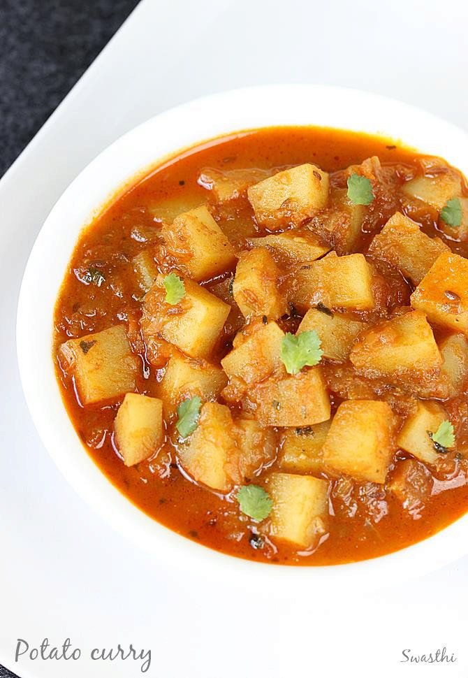 Potato curry recipes (aloo curry) | How to make potato curry