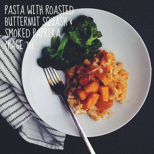 Pasta with Roasted Butternut Squash and Smoked Paprika