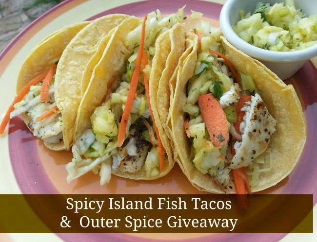 Spicy Asian Fish Tacos