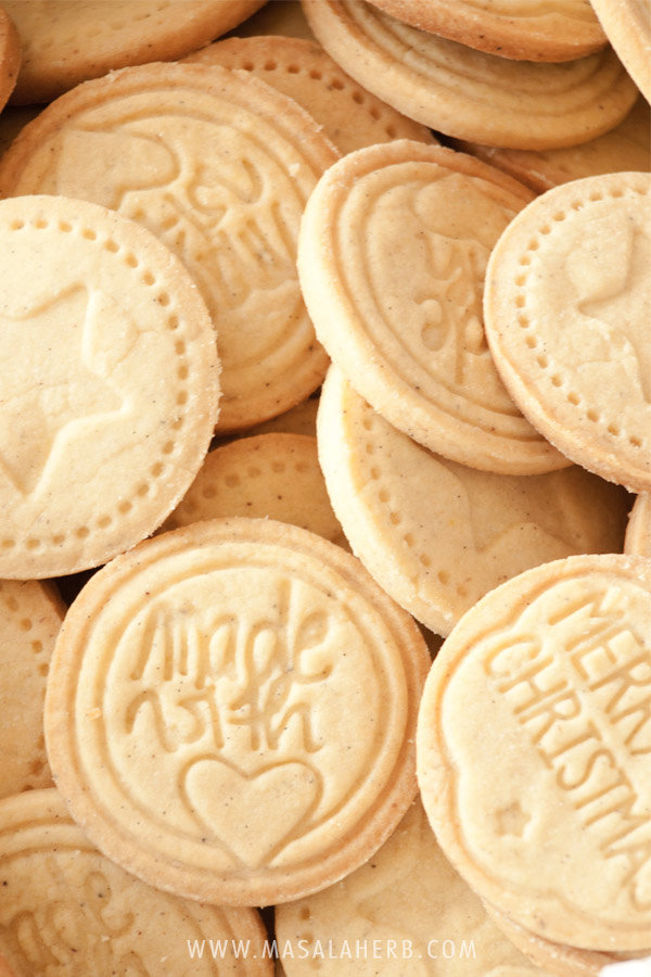 Albertle Stamped Cookies - German cookies - How to make stamped cookies