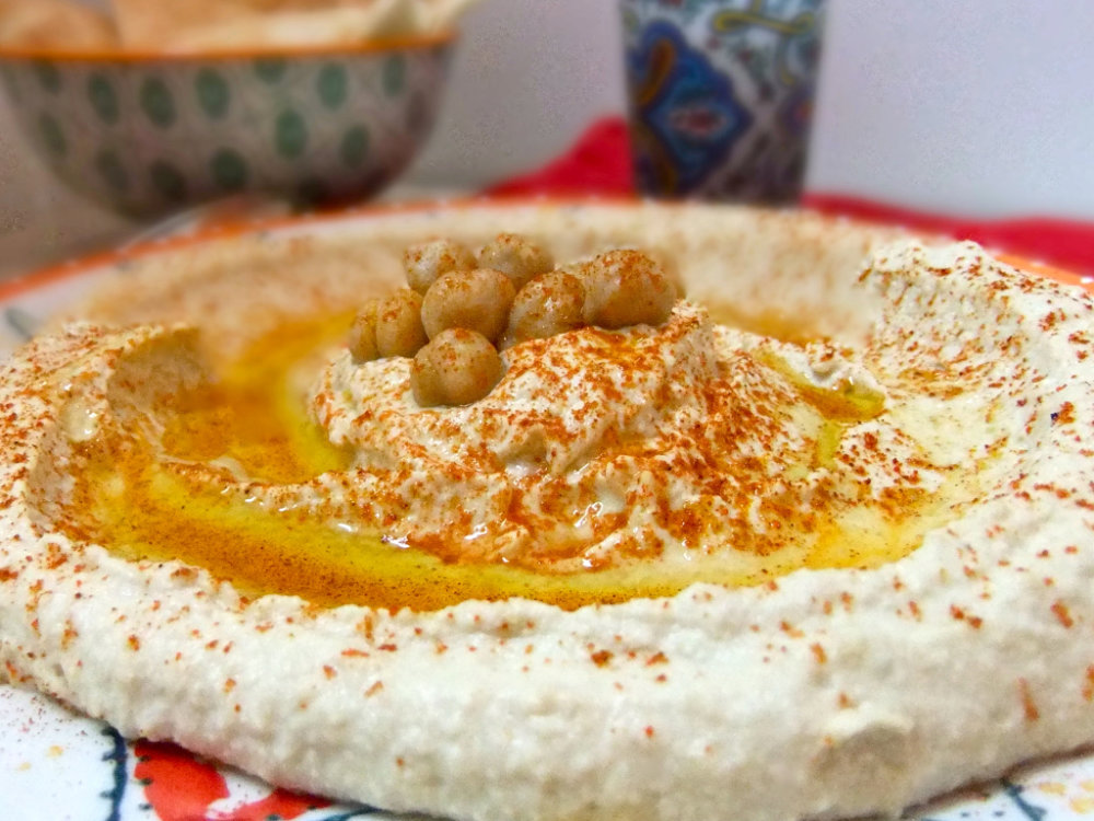 Home Made Hummus