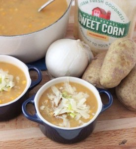 Quick Corn and Potato Soup