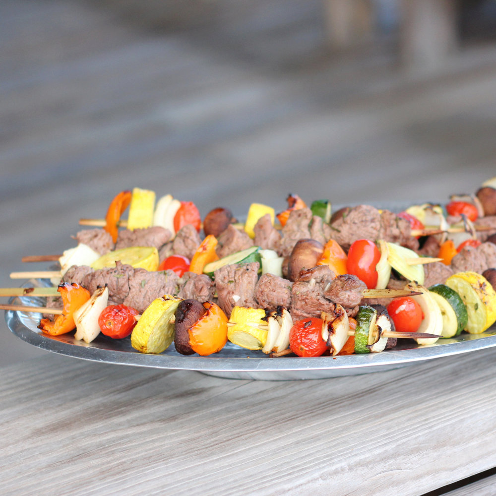 Lemon Herb U.S. Lamb Kabobs