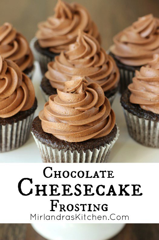 Chocolate Cheesecake Frosting