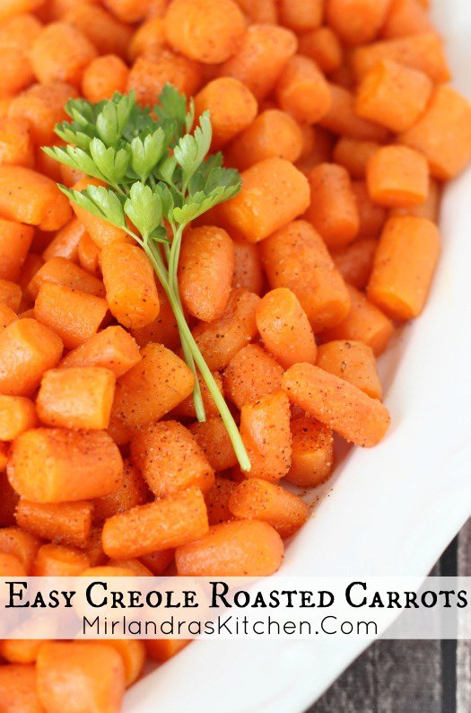 Easy Creole Roasted Carrots