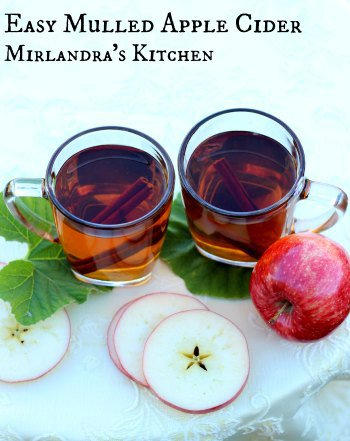 Easy Mulled Apple Cider