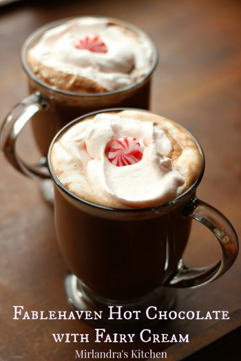 Fablehaven Hot Chocolate with Fairy Cream
