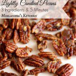 Lightly Candied Pecans