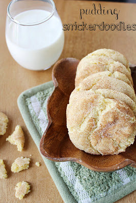 Pudding Snickerdoodle Cookies