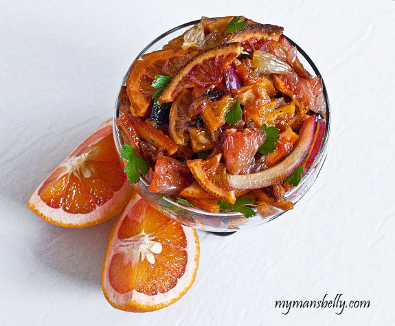 Roasted Winter Citrus Fruits