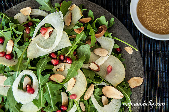 A Fall Apple and Fennel Salad Recipe