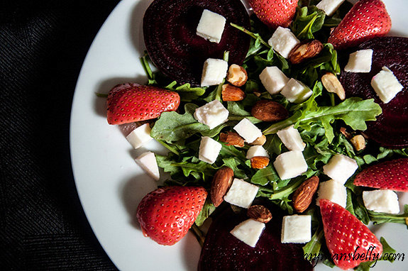Pickled Strawberry and Beet Salad