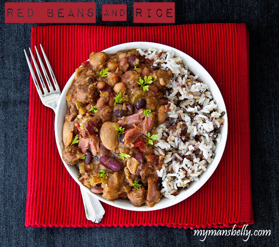 A Kinda Sorta Red Beans and Rice Recipe