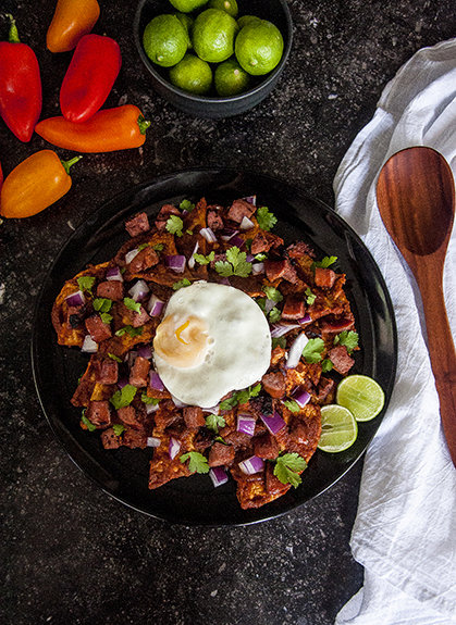 Chilaquiles For Breakfast, Lunch or Dinner