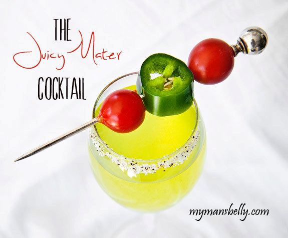 What to Pair with Your Gooey Grilled Cheese - A Juicy Tomato Cocktail
