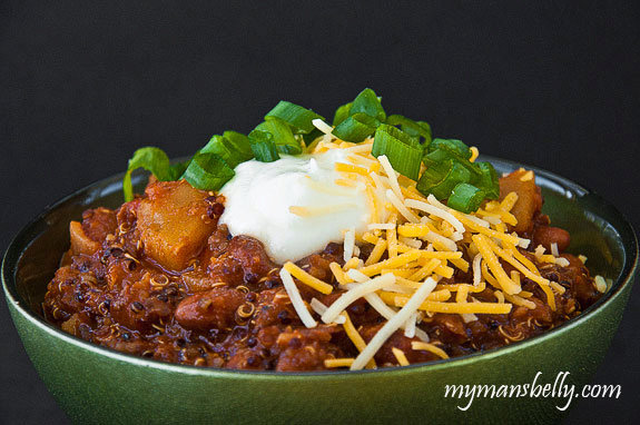 Rich and Delicious Vegetarian Chili