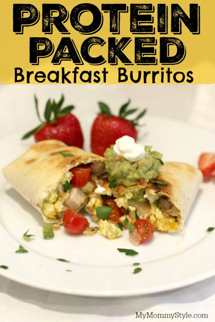 Protein Packed Breakfast Burrito