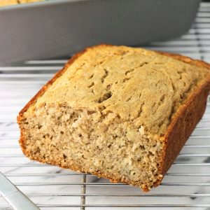 Naturally Sweetened Banana Bread