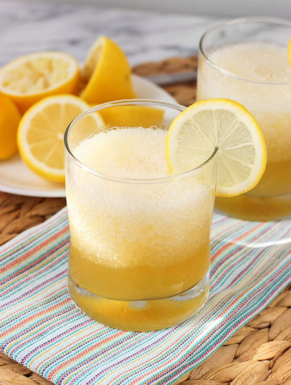 Frozen Gold Rush Cocktail