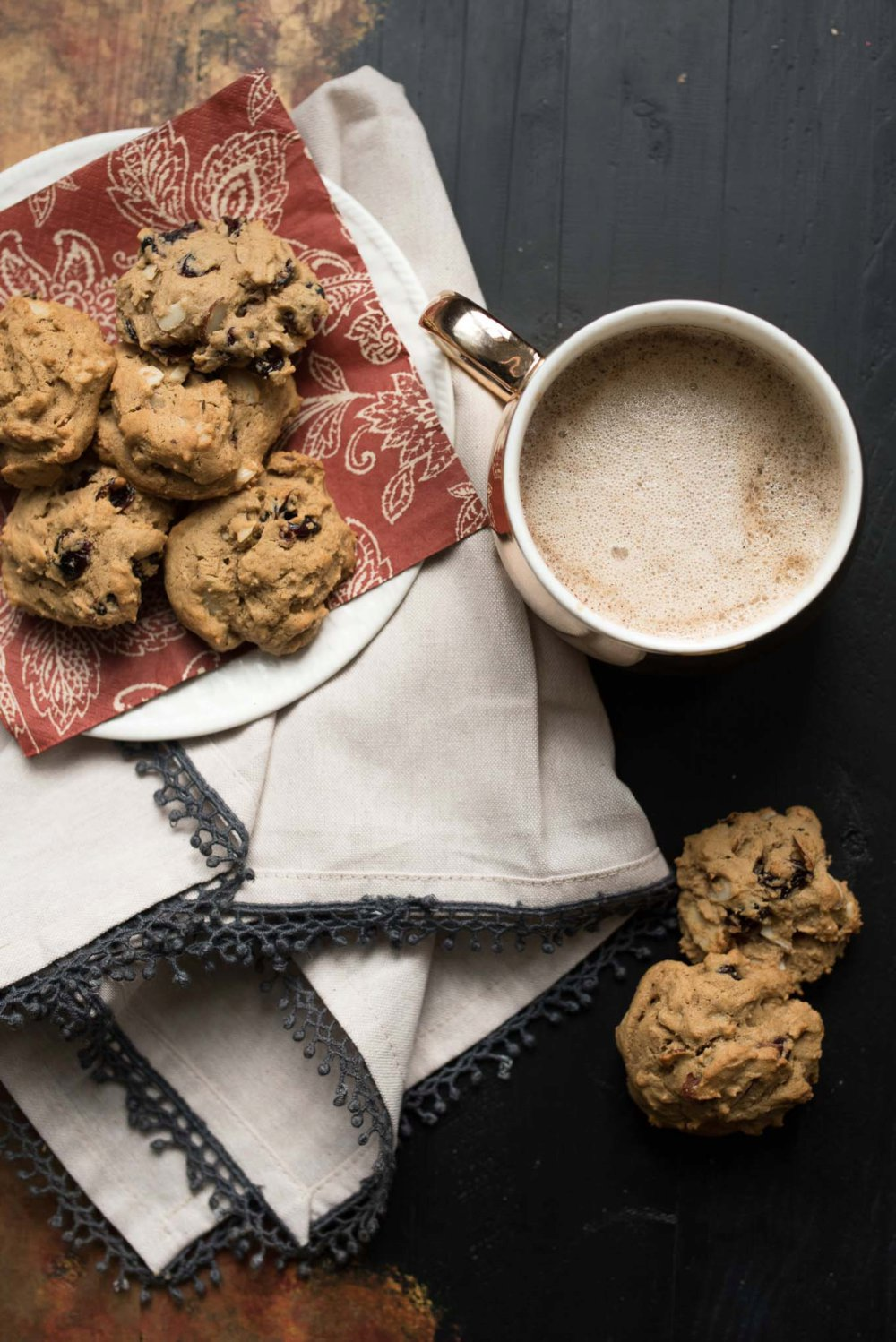 Cranberry Almond Spice Cookies + Ninja Coffee Bar System Giveaway
