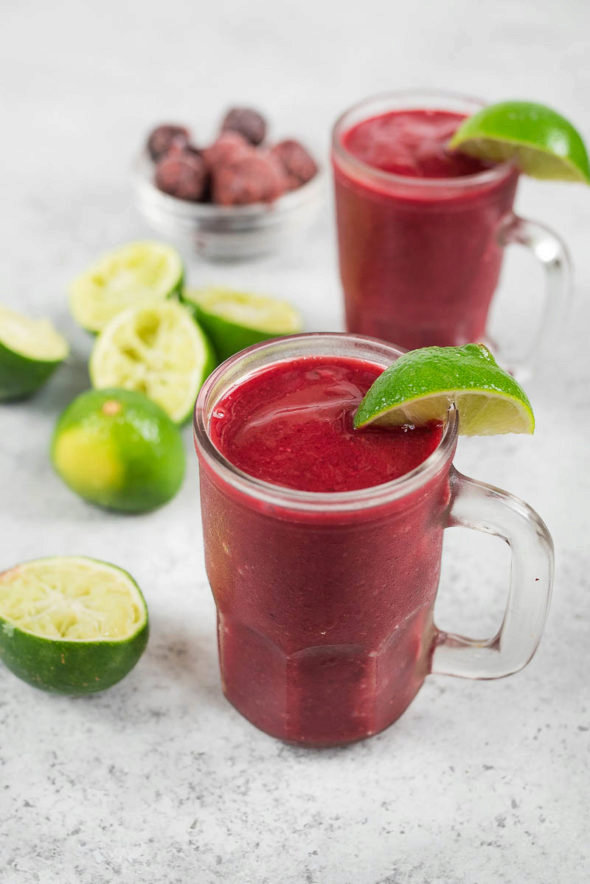 Cherry Limeade Smoothie