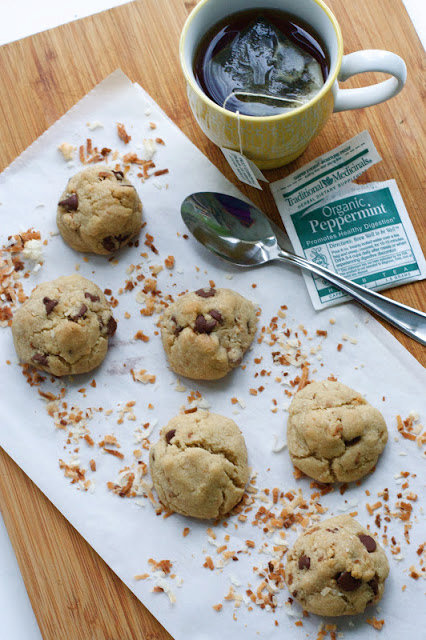 Coconut Brown Butter Chocolate Chip Cookies